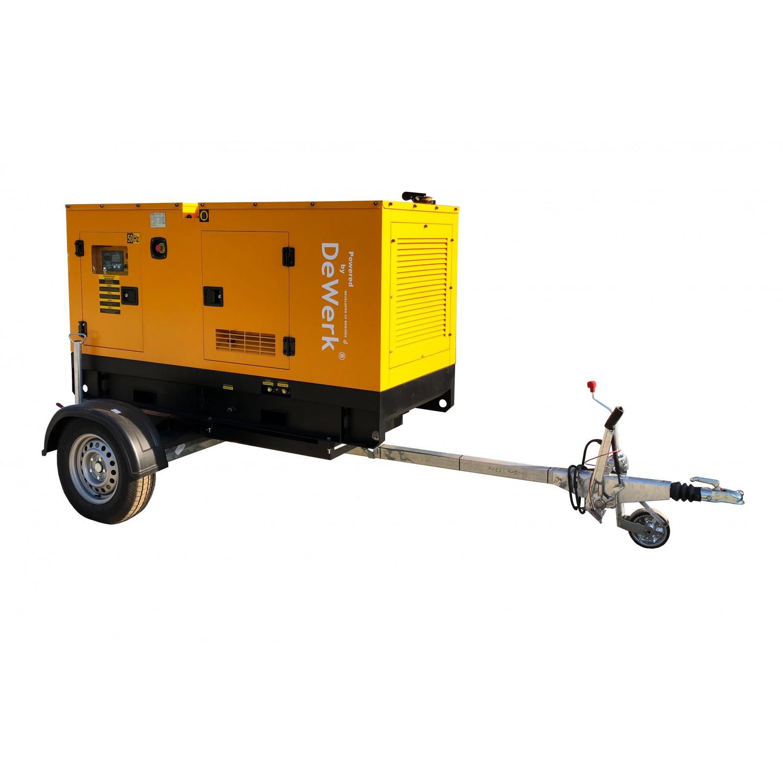 Remorca transport generatoare - ERG1350
