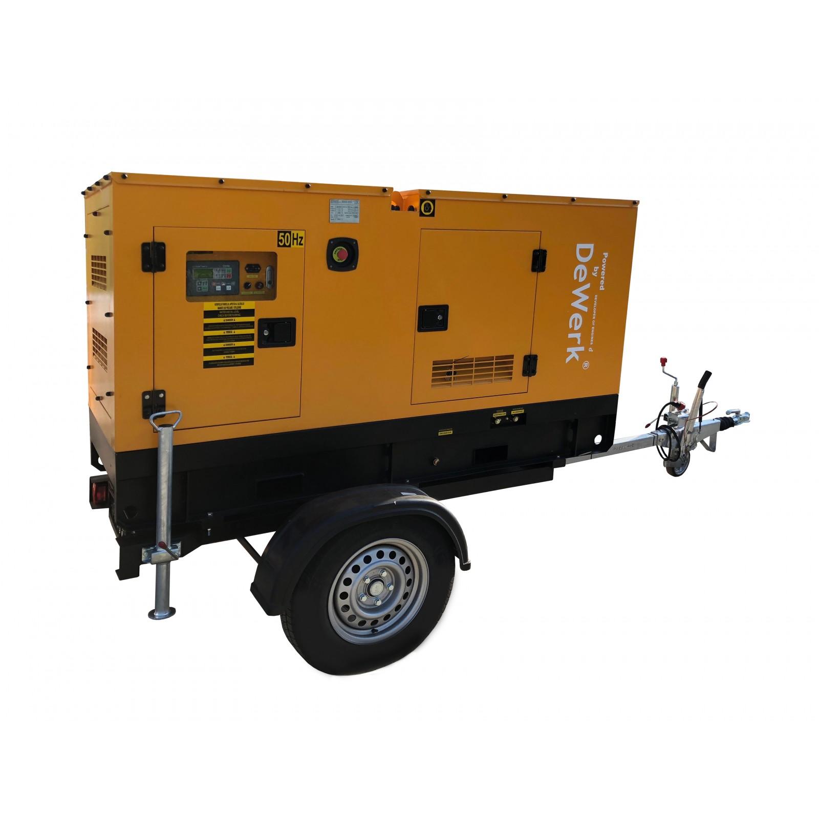 Remorca transport generatoare - ERG1500