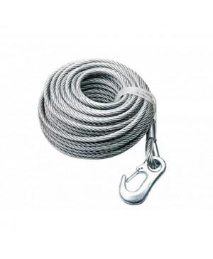 Cablu tractare pentru troliu, 350 kg, 10m