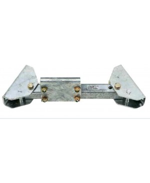 Roata purtatoare transv.  390-410  complet