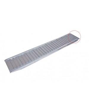 Rampa Profesionala Aluminiu - 2.37 m, max 1900 kg/set, inaltime incarcare 450 mm